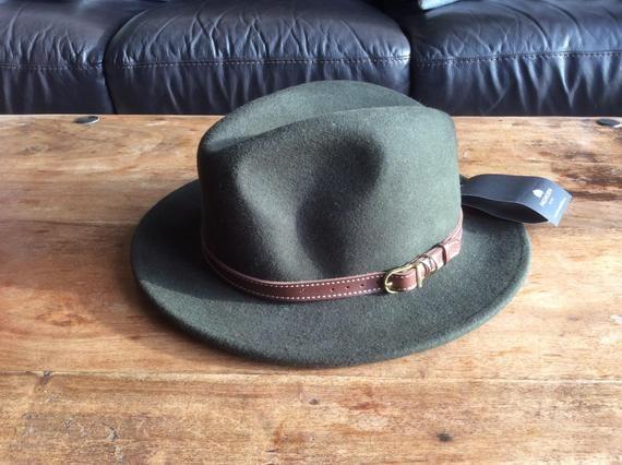 Failsworth Mens Wool Adventurer Fedora
