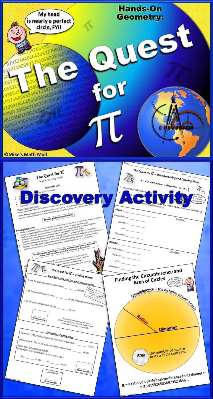 270 Best Math Pi Images On Pinterest Teaching Math