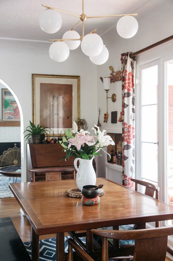 At Home With Photographer Marisa Vitale Sfgirlbybay Farmhouse Dining Room Table Vintage Dining Table Farmhouse Dining Rooms Decor
