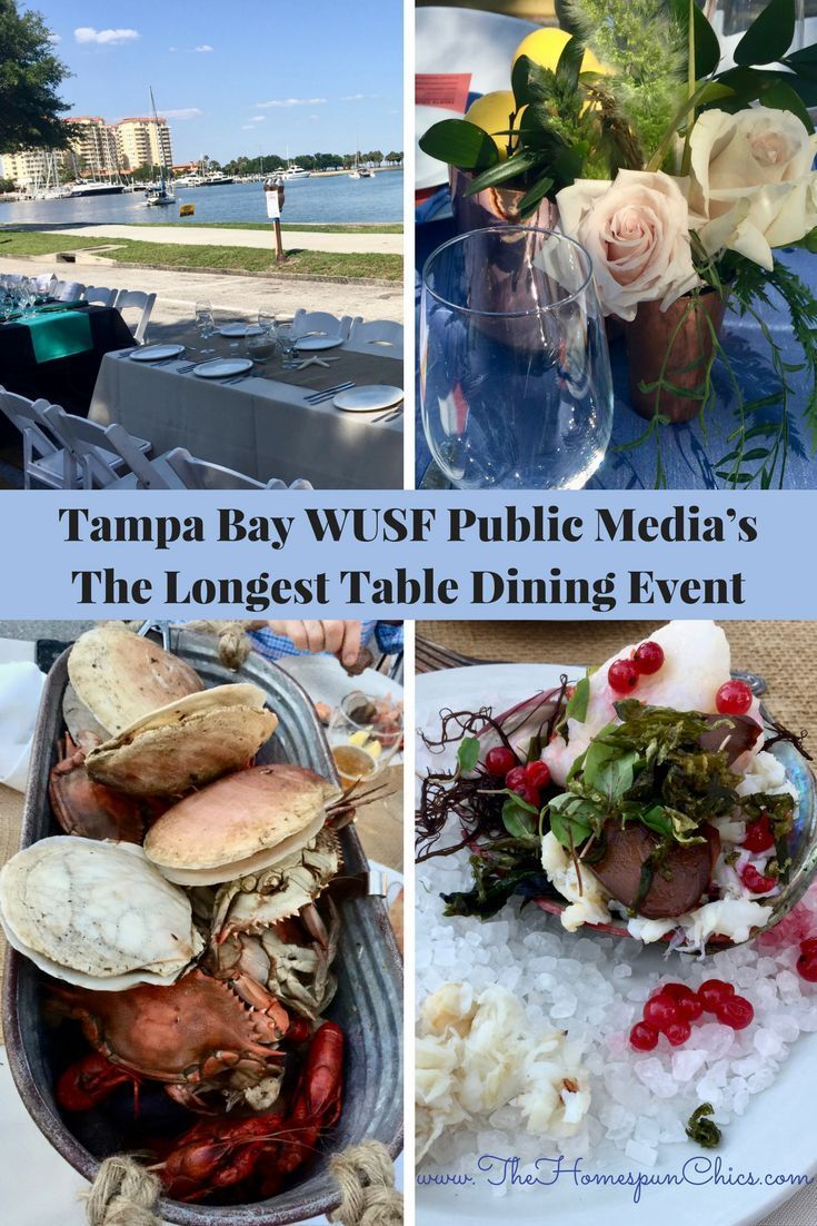 10 best best of the homespun chics reviews images on pinterest tampa bay wusf public medias the longest table dining event 2018 m4hsunfo