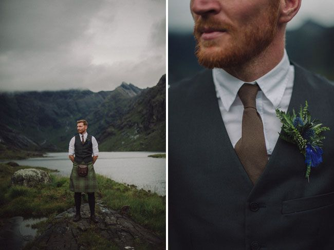 scottish groom