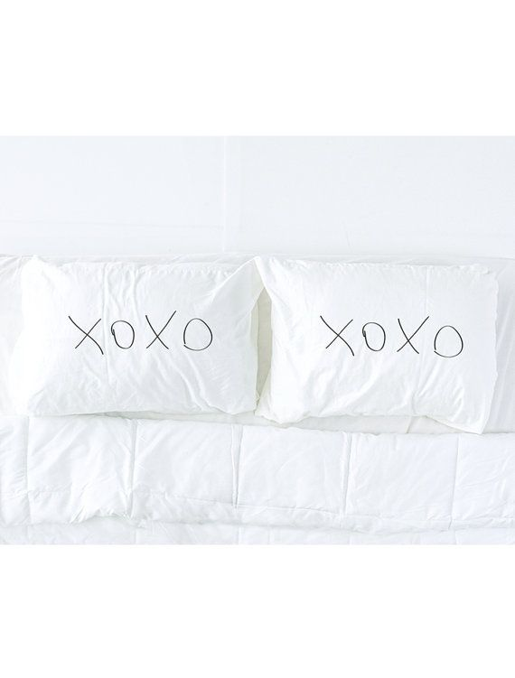 top seller of the day!   XOXO Printed Pillowcase Set
