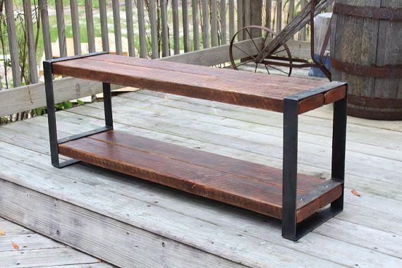 Foyer Bench Jobs : Best ideas about industrial bench on pinterest diy