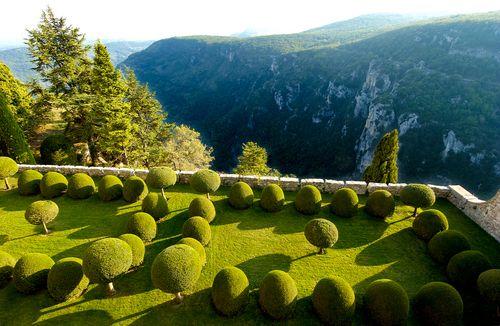 Le jardin l 39 italienne ch teau de gourdon the dream - Jardin a l italienne ...