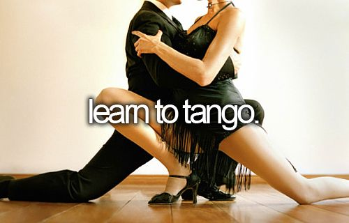 in fact just learn to dance!
