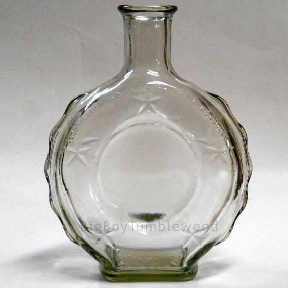 Vintage GLASS Empty Old Mr Boston Brand Liquor bottle Nautical #vintageglass #emptybottle #mrboston #liquorbottle #nauticaldecor #glassware #farmhouse #frenchcountry #lifesaver #apothecaryjar #jar #etsy #etsyseller #etsyshop #giftideas #vintage #retro