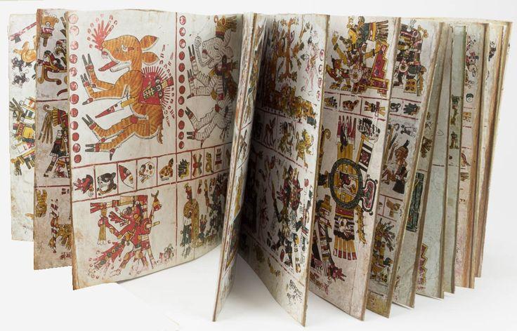 The Codex Borgia, a Post-Classic Aztec Manuscript