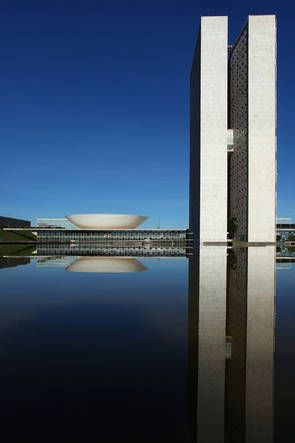 The National Congress - Brasilia - Brasil / Brazil - ✔BWC
