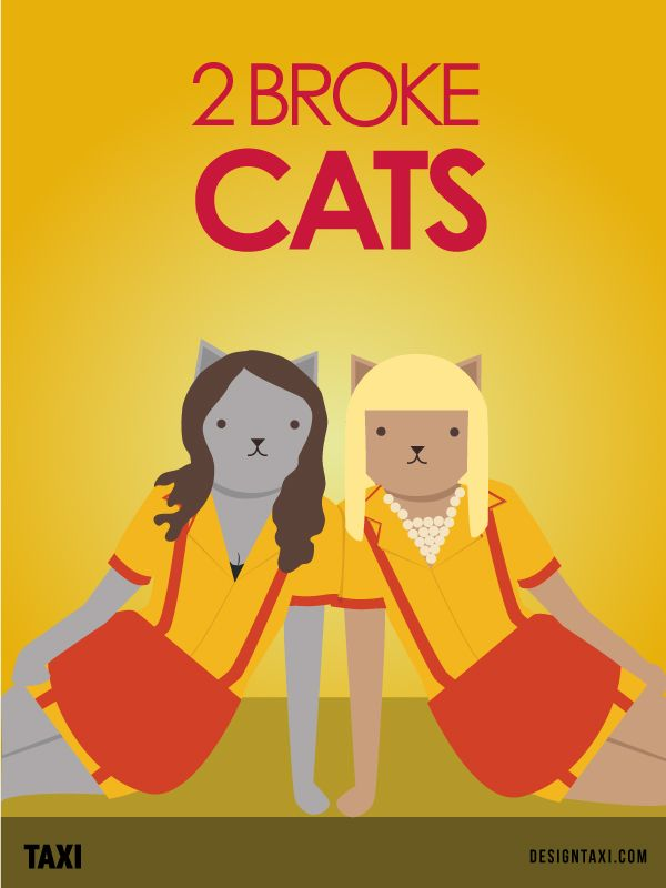 What If Famous TV Shows Starred Cats Instead? - DesignTAXI.com