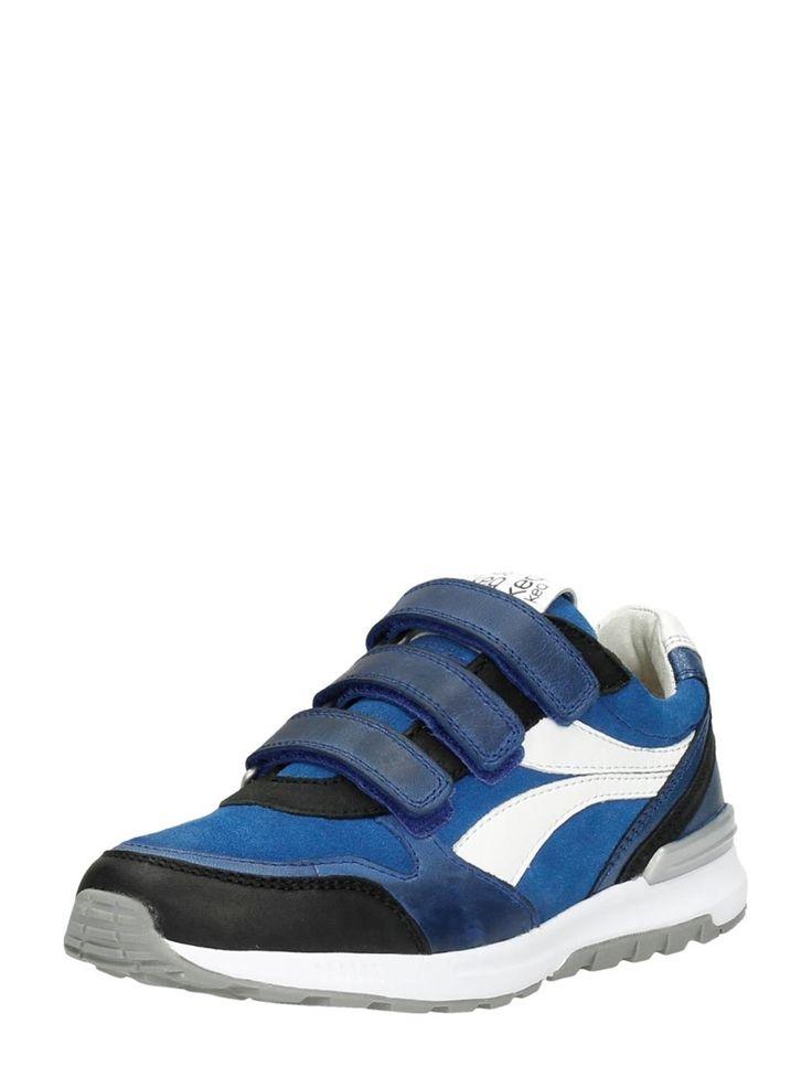 Keq jongens schoenen met klittenband - blauw