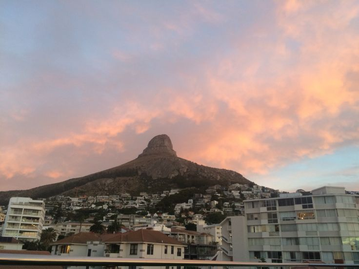 Lions Head at sunset