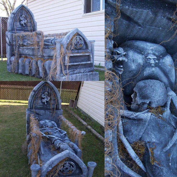 17 best images about halloween graveyards on pinterest. Black Bedroom Furniture Sets. Home Design Ideas