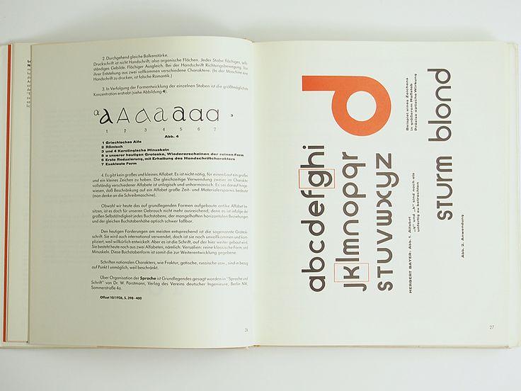 Bauhaus: Drucksachen, Typografie, Reklame   SPREAD