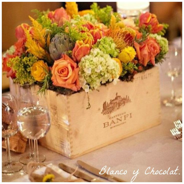 187 best images about centro mesa boda on pinterest for Centros de mesa de madera