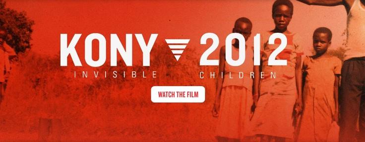 KONY 2012, niños invisibles