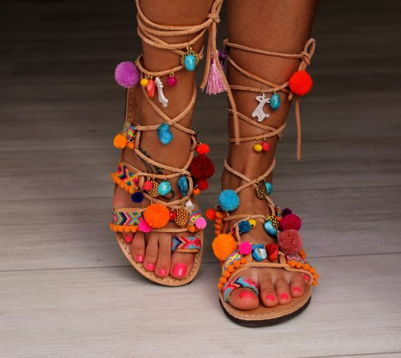 Best 25 Pom Pom Sandals Ideas On Pinterest Sandals With
