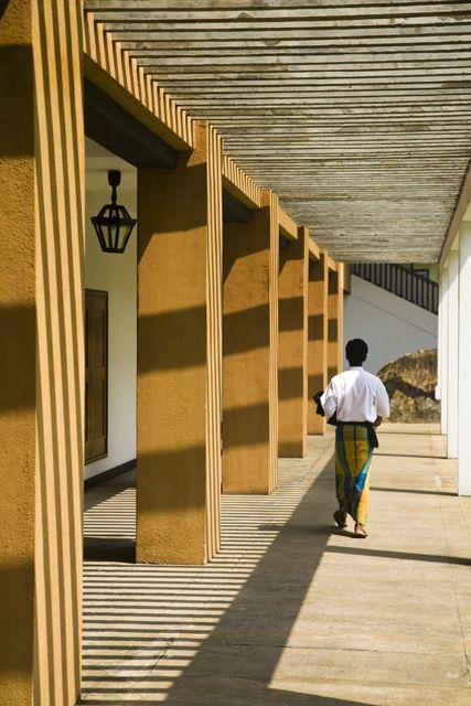 Geoffrey Bawa's Lighthouse Hotel Sri Lanka