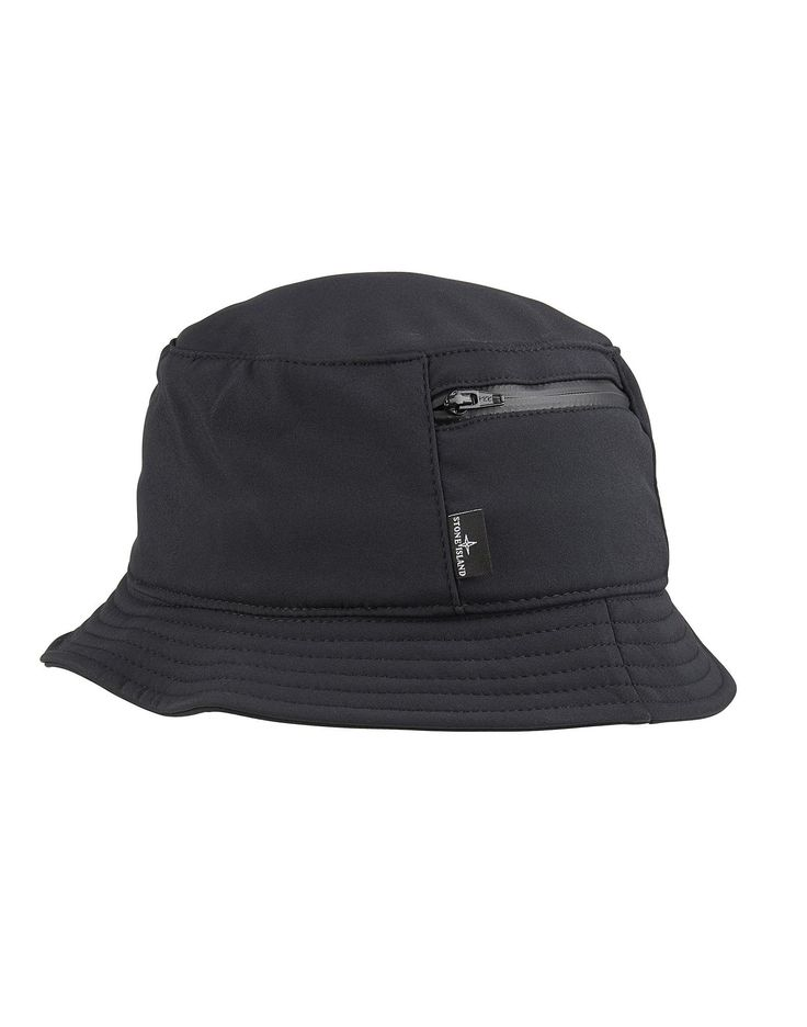 99279 SOFT SHELL-R Bucket Hat in Black