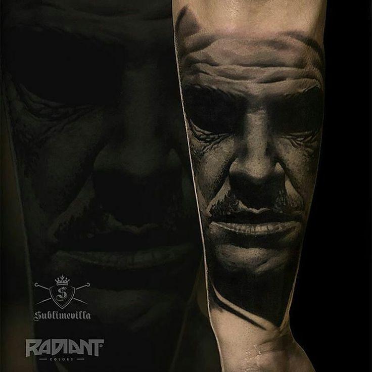 Tattoo by @sublimevilla #tattoo #tattooartist #art #artist #inked #realism #thegodfather