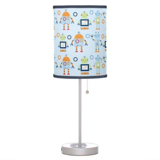 Baby Bots Robot Nursery Lamp Desk Lamp