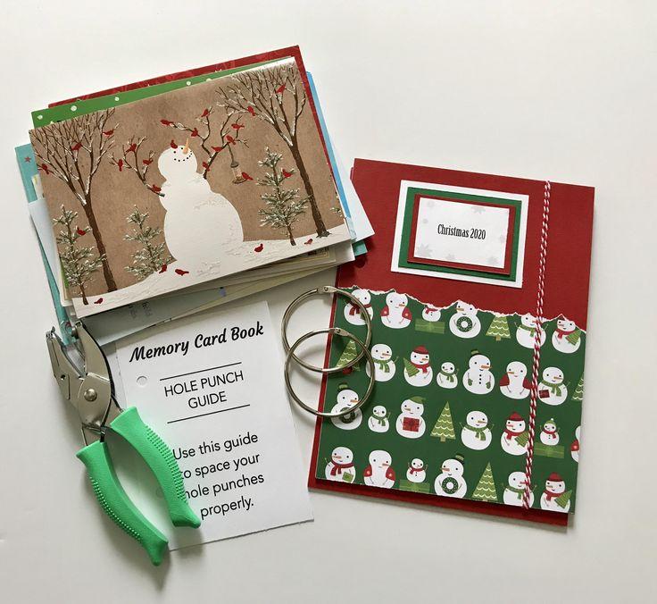 Holiday Card Keeper, Christmas Card Organizer, Merry