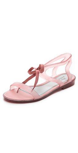Melissa Melissa + Jason Wu Tie Sandals | SHOPBOP