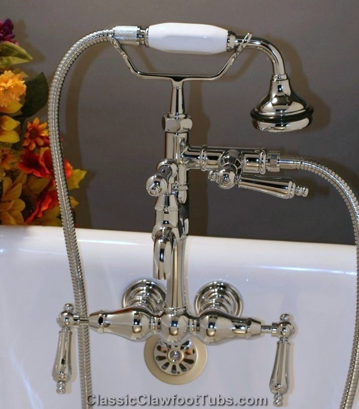 with finish tap foot tub gold mixer bathtub shower claw faucets clawfoot hand faucet handheld