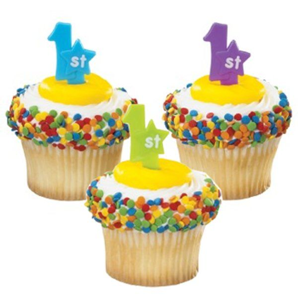 1st Birthday Cupcakes Especially For Kids With Essence Of Fruits Birthday Party Cupcakes