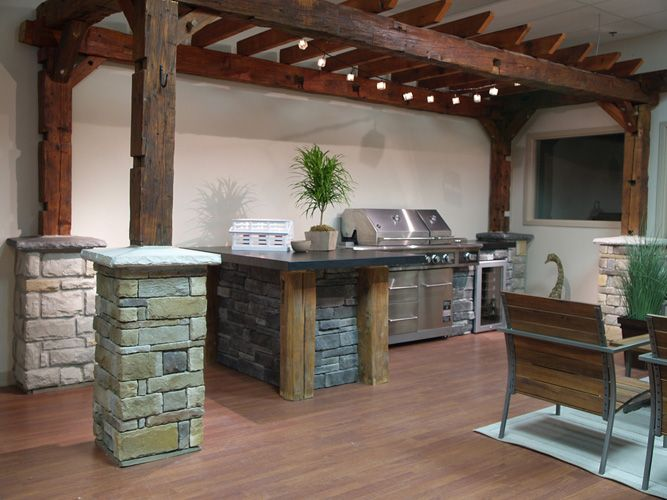 85 best images about Backyard bar b q areas on Pinterest ...