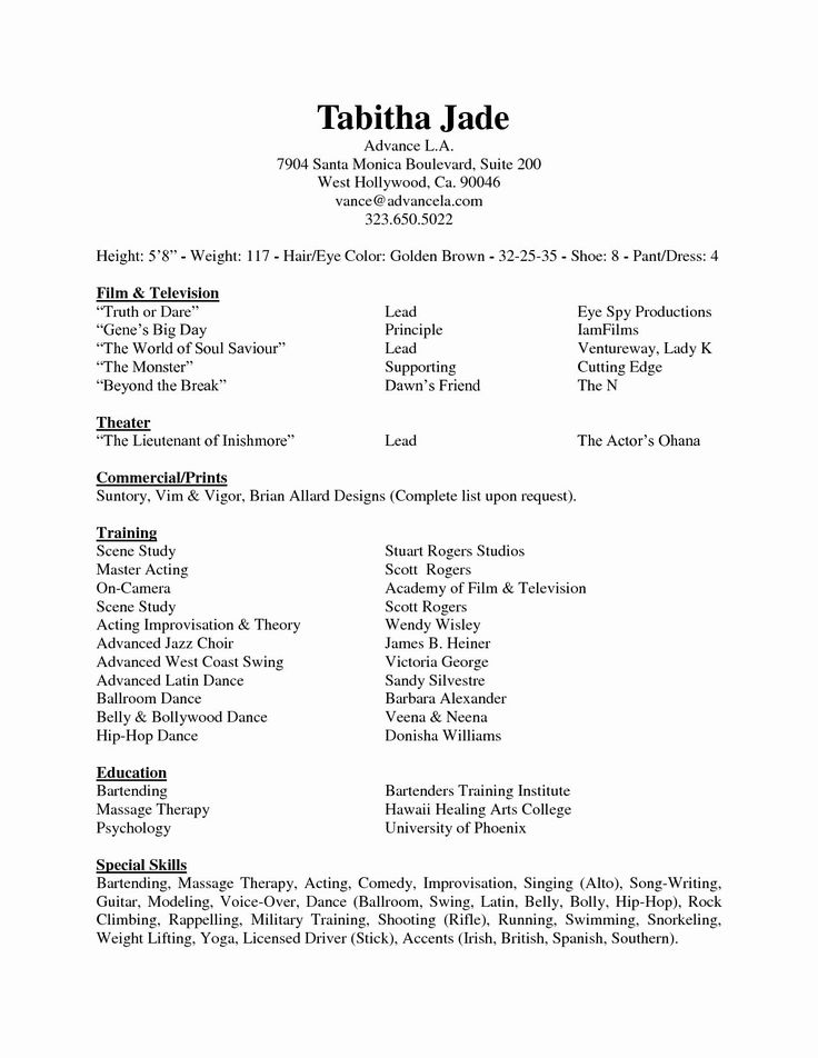 80 awesome image of sample resume for guitar teacher