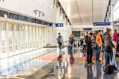 9. Fort Worth, de internationale luchthaven van Dallas, Verenigde Staten <br> Aantal: ook bijna 64 miljoen reizigers in 2014.