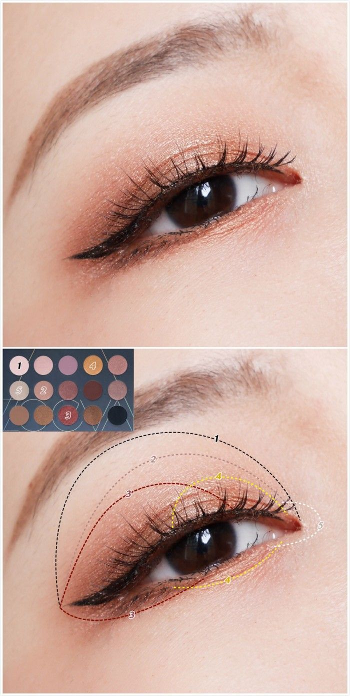Korean makeup in 2020 (With images) Korean eye makeup