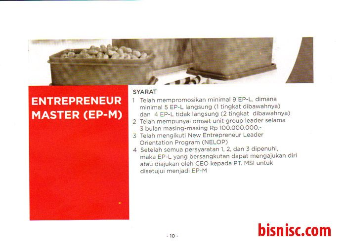 Page 10 Syarat mencapai EpM (Master) CMN