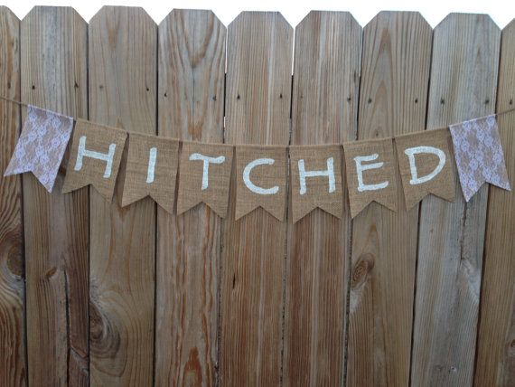 Diy Wedding Word Banners: 1000+ Images About DIY Burlap Banners On Pinterest