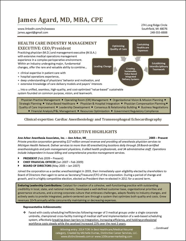 resume for revenue cycle director