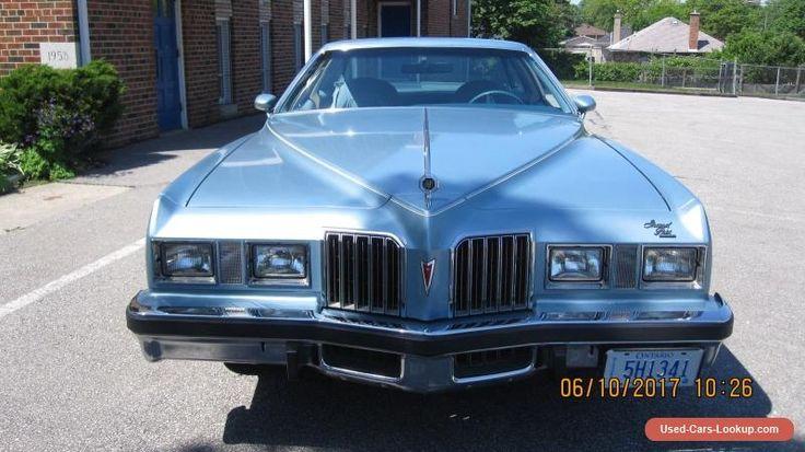 1977 Pontiac Grand Prix SJ #pontiac #grandprix #forsale #canada