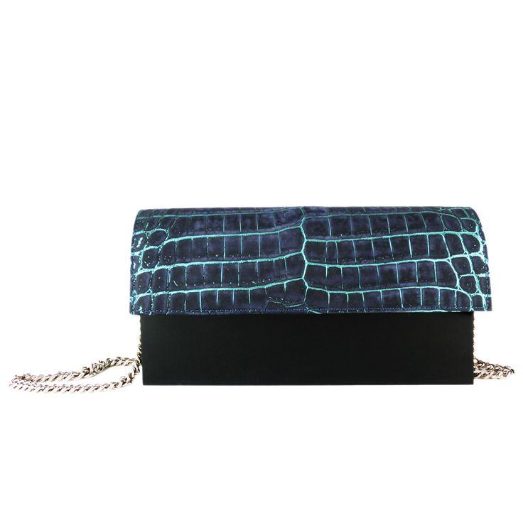 Hugo Matha clutch | #clutch #fashion #accessories #bags #handbags #valerydemure [discover more at www.valerydemure.com]