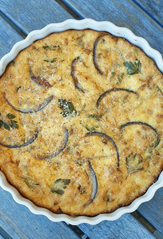Tina's Crustless Quiche