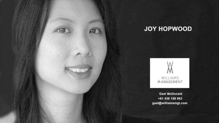 Joy Hopwood Showreel 2018