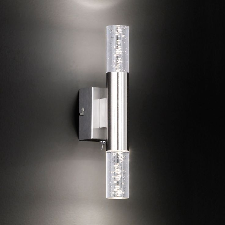 Badezimmer Wandlampen. Robert Abbey Lucy Dark Nickel Finish Plug
