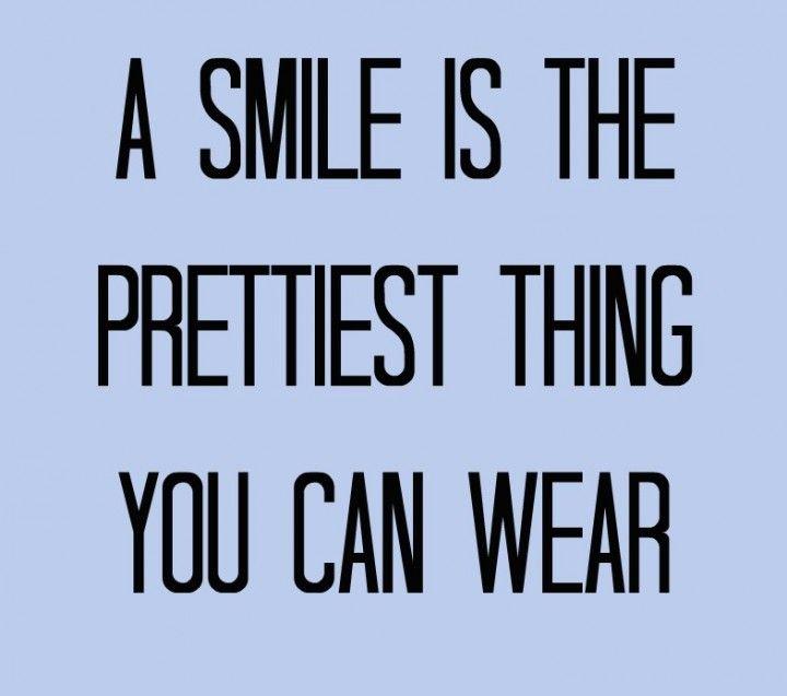 Wear it from ear to ear~
