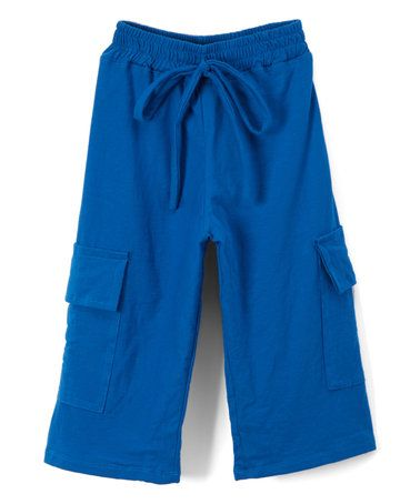 Love this Blue Organic Cotton Cargo Shorts - Boys on #zulily! #zulilyfinds