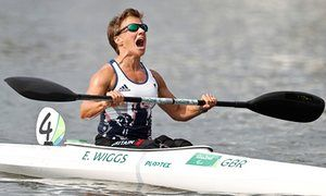 Emma Wiggs - gold canoe KL2 event