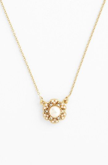 kate spade new york 'park floral' pendant necklace | Nordstrom