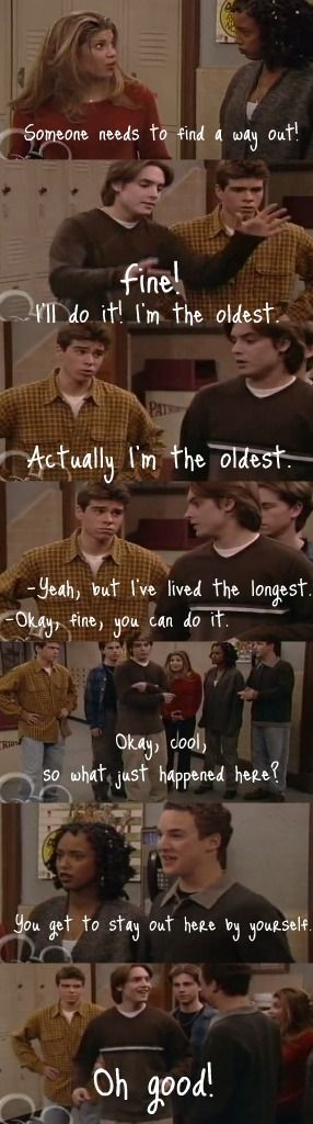 Boy Meets World. I love Eric.