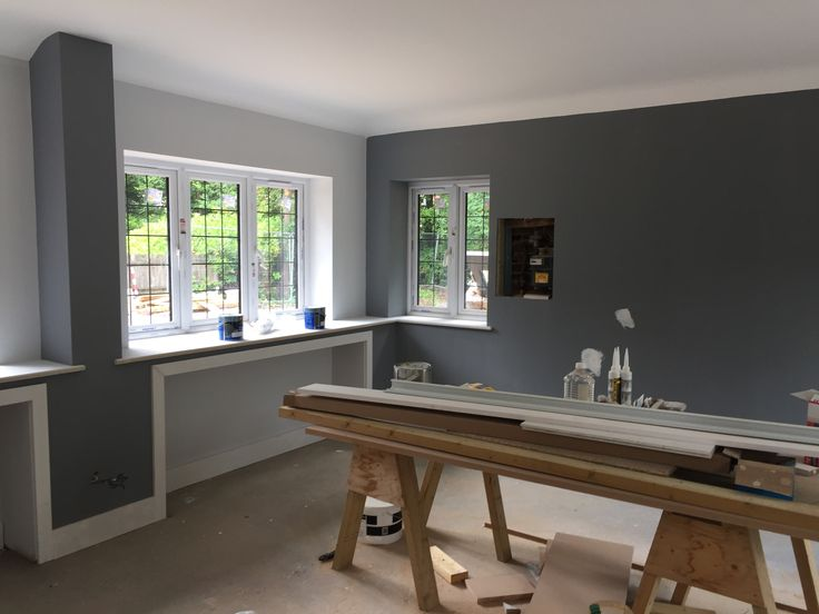 Warm Pewter Dulux Snowman Dulux Trade Renovations In