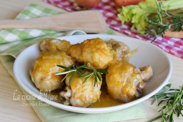 Stufato di pollo ricetta gustosa da fare con Bimby e senza, un secondo piatto della cucina italiana ricco e succulento,perfetto per il pranzo della domenica
