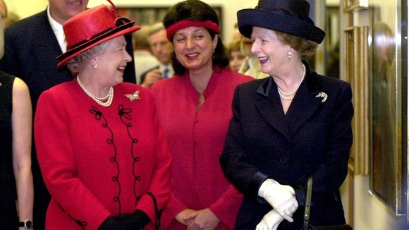 The Queen and Margaret Thatcher through the years