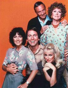Threes Company (TV Show) w/Jack Tripper, Chrissy Snow, Janet, and the funny neighbors, the Ropers