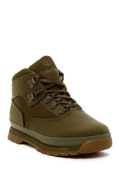 Image of Timberland Euro Hiker Fabric Boot (Little Kid)